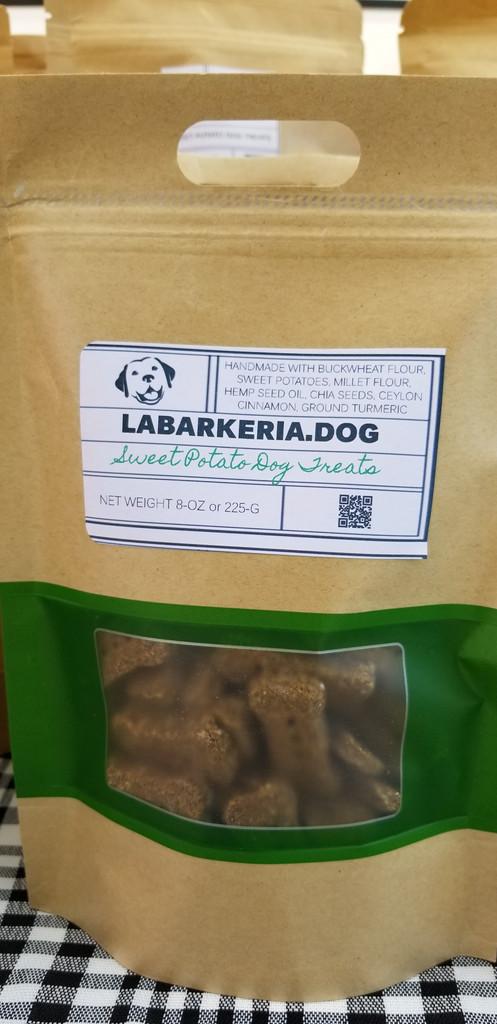 Sweet Potato Bark Treats