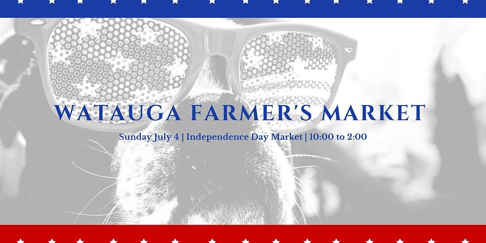 Watauga Farmer's Market (Independence Day)