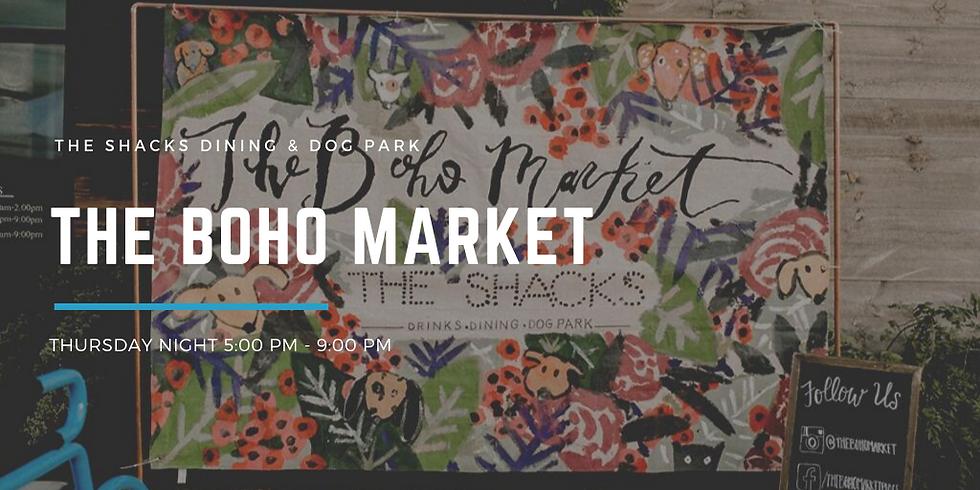 The Boho Market at The Shacks