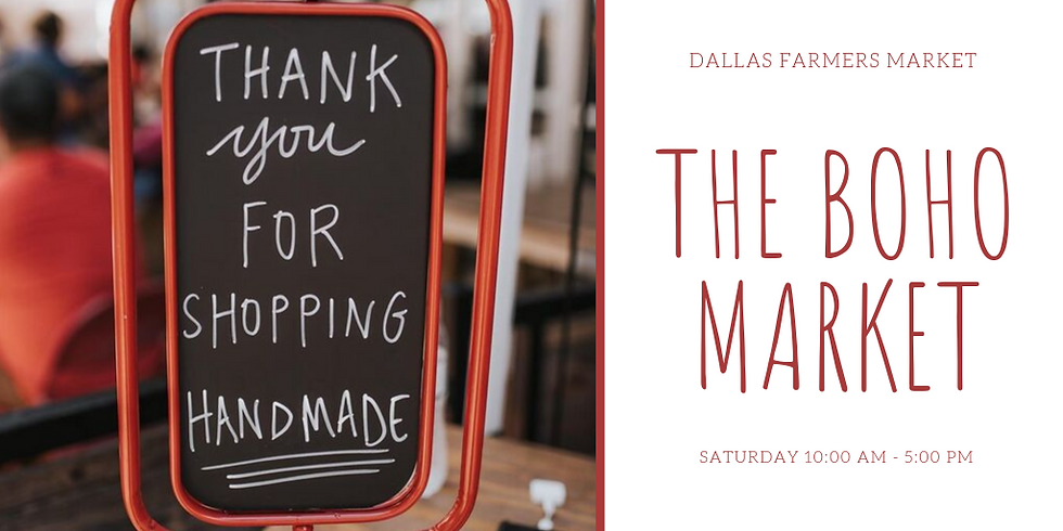 The Boho Market at Dallas Farmers Market
