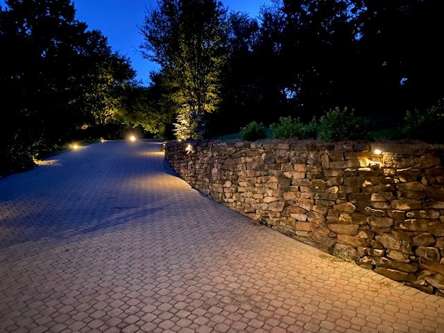 River Place Stone Wall