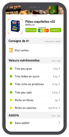 Montr application mobile évaluation produit