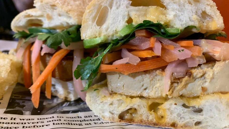 Introducing the The Tofu Bánh Mi sandwich