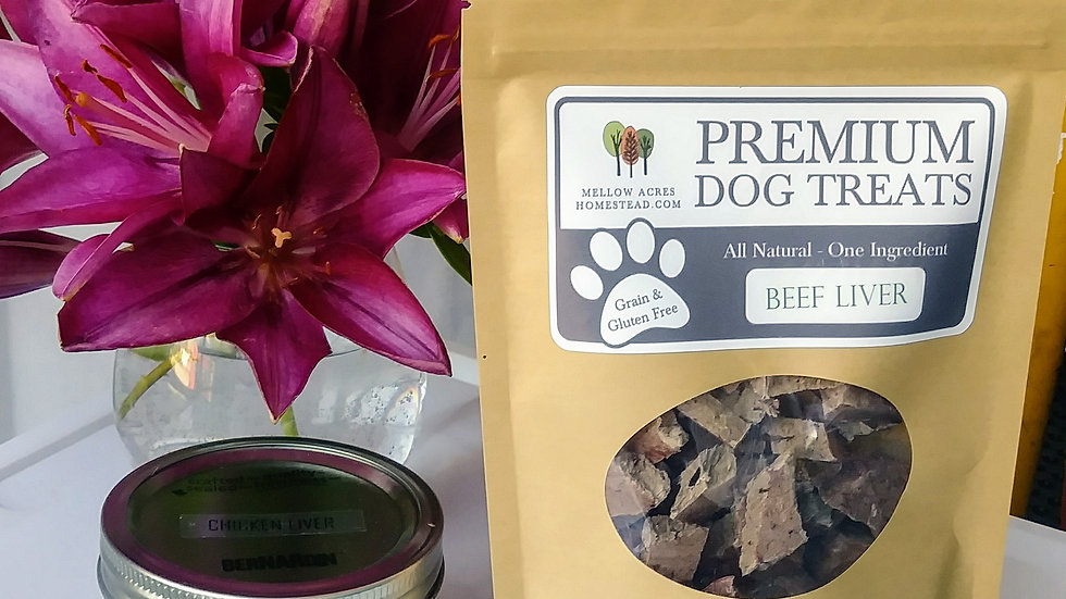Beef Liver - Freeze-Dried