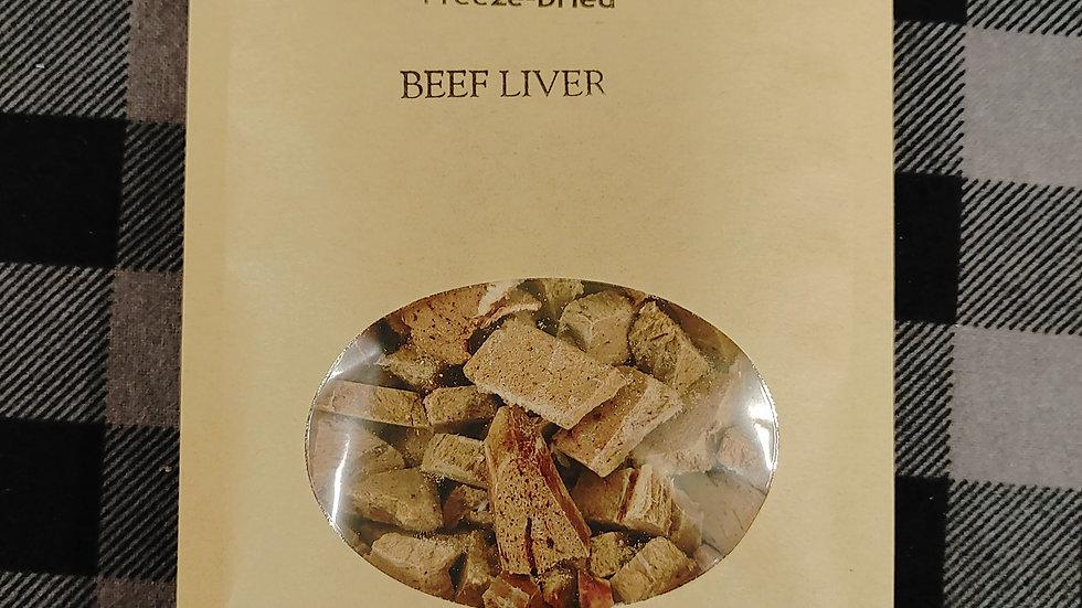 Beef Liver - Cat Treats - freeze dried