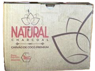 CARVÃO NATURAL 1KG