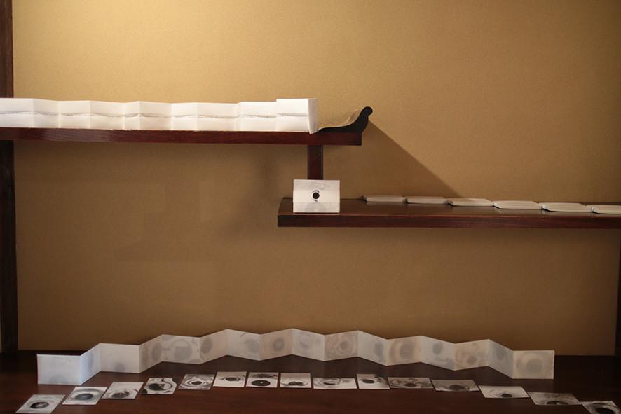 「濡れた地蔵PROJECT」展示風景