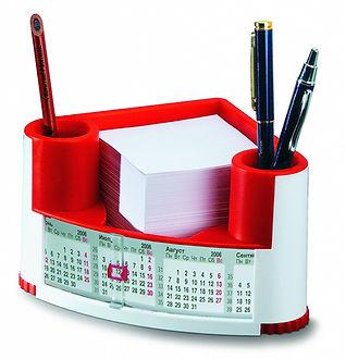 Календарь настольный пластиковый Канцелярский набор с календарем Календарь