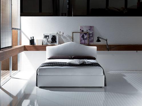 Scarlatto letto contenitore