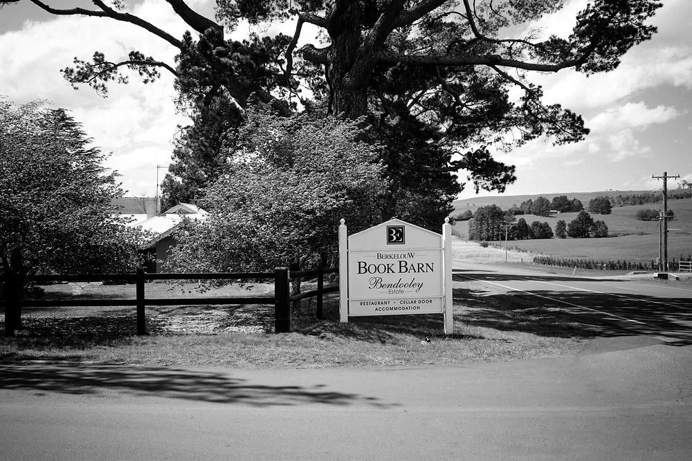 The Book Barn Bendooley Estate wedding venue