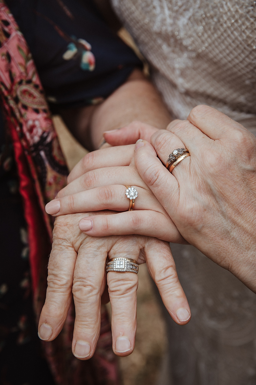 emotional wedding photographer three generations de lumiere photography
