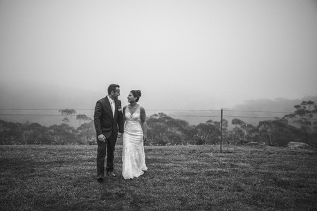 The bride and groom share a moment on their wedding day - de lumière photography