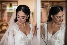 bridal portrait photographed by de lumiere photography