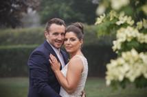 Portrait of bride and groom - Bilpin Wedding - de lumière photography