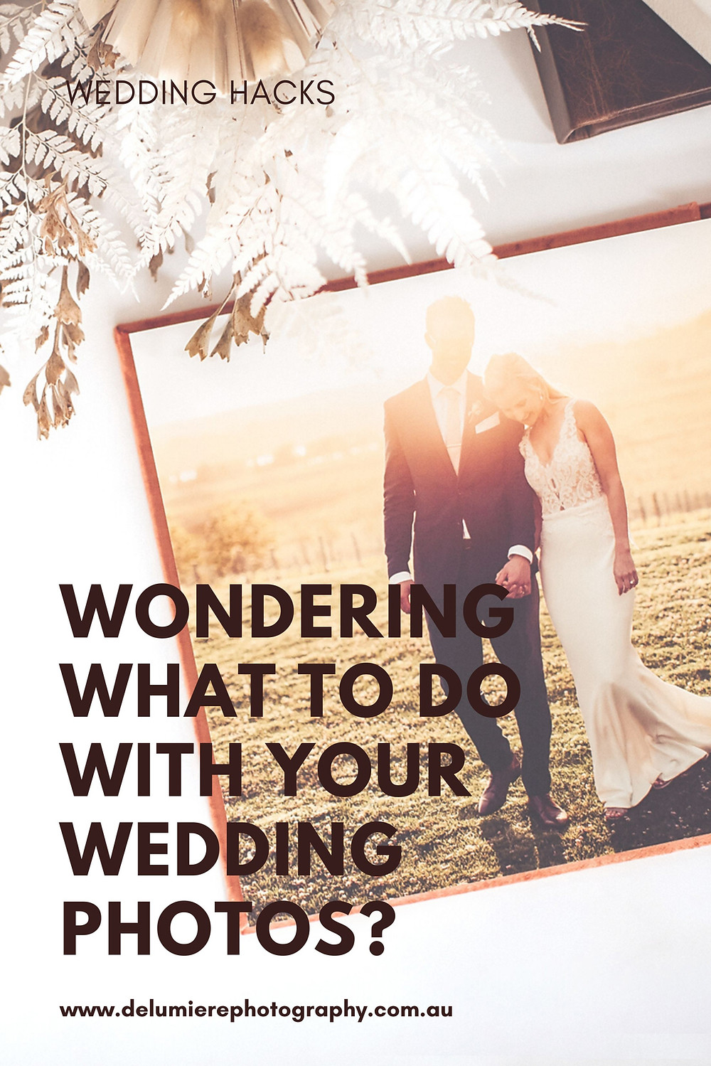 wondering what to do with your wedding photos?