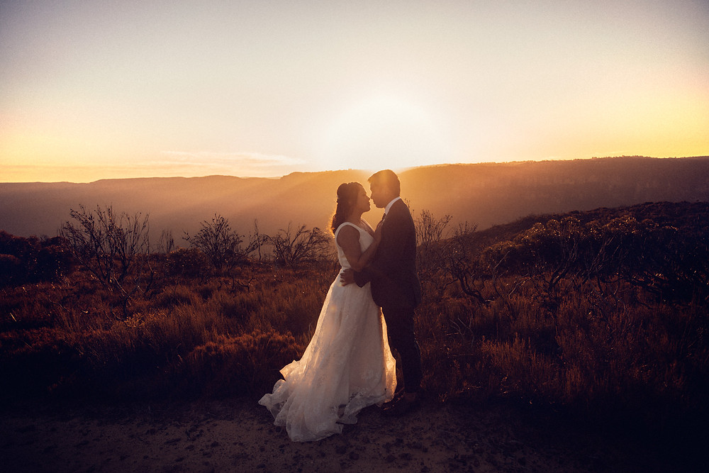 sun drenched winter micro wedding captured by sydney wedding photographer de lumiere photography