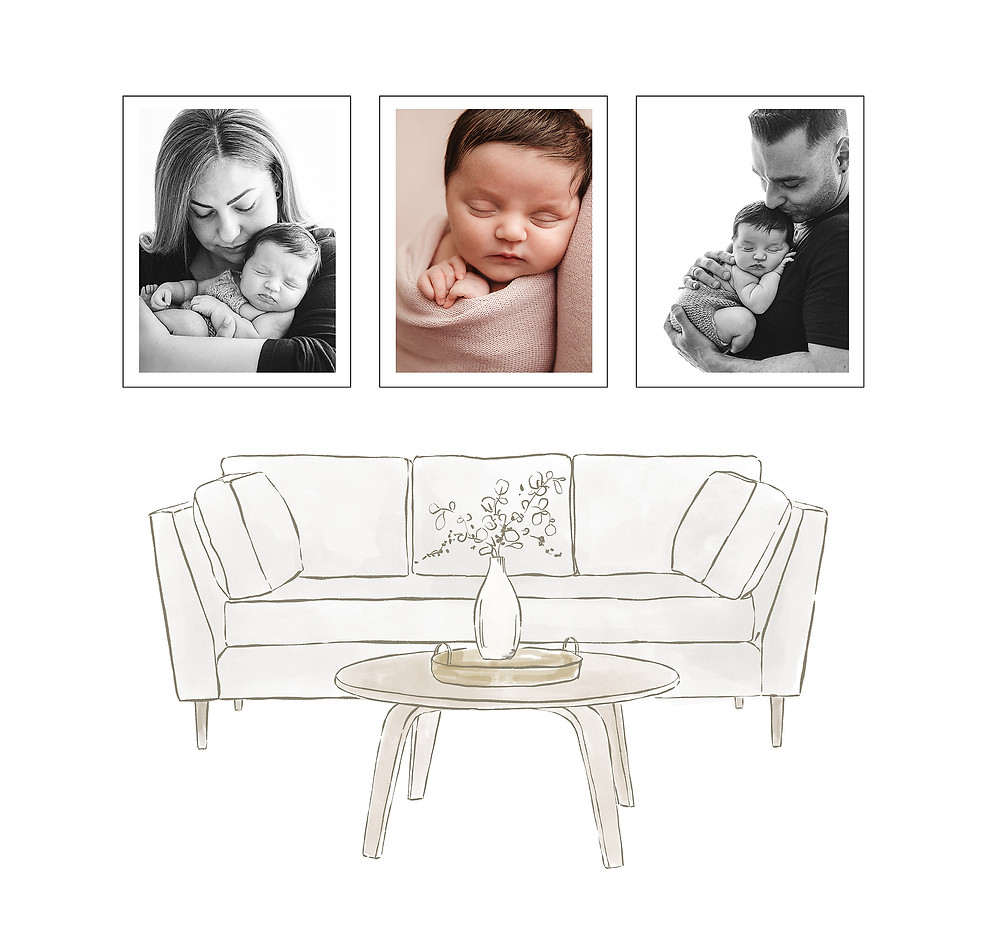 professional newborn photography keepsakes