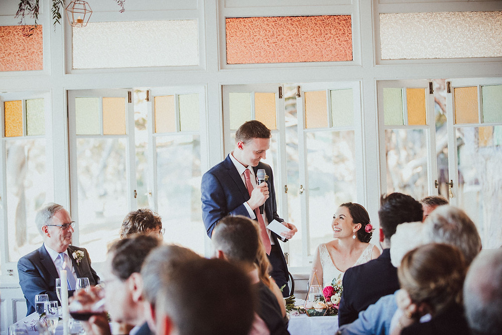 Kate and Marc's charming beachside wedding at The Nielsen