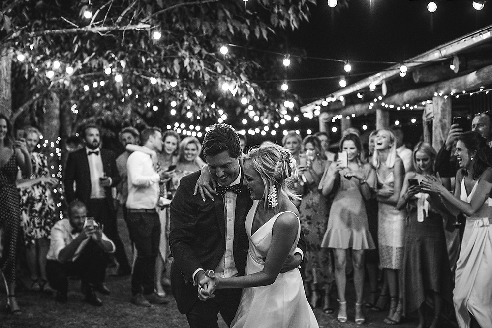 Abby and Toby's First Dance at their Waldara Wedding