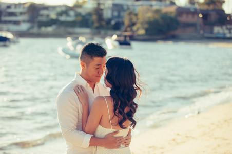 Engagement photos by Wedding Photographers de lumière photography