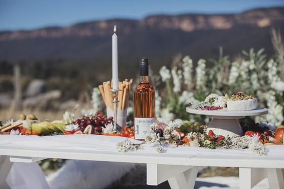 Dryridge estate wine - grazing table - picnics by hannah - blue mountains