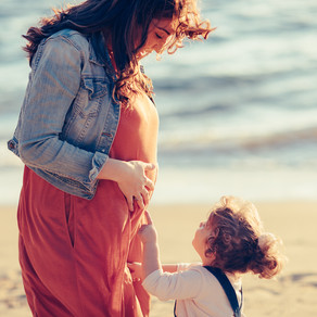 The Geren Family's Maternity Session at Watson's Bay