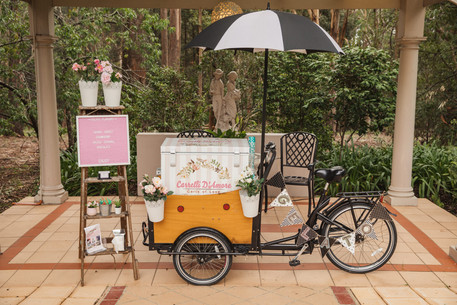 gelato cart styled first birthday party sydney photographer