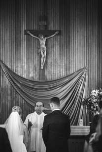 blue mountains church wedding ceremony