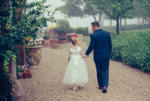 Father and daughter holding hands - Sydney Wedding Photographer - de lumière photography