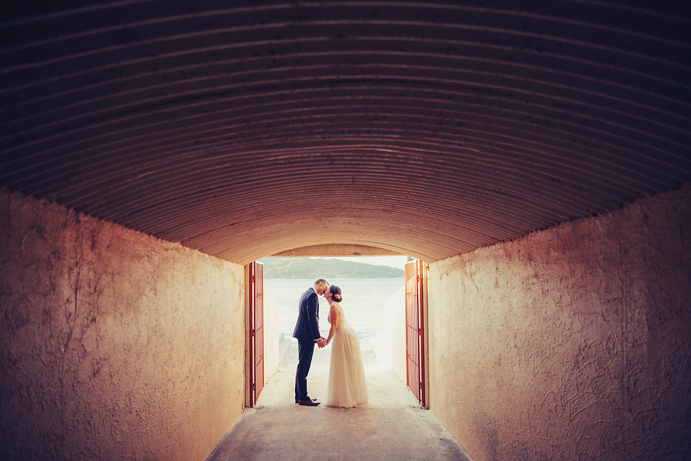 Kate and Marc's beach wedding at The Nielsen photographed by de lumière photography