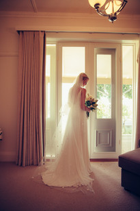 professional wedding photography bride wearing hope x page gown