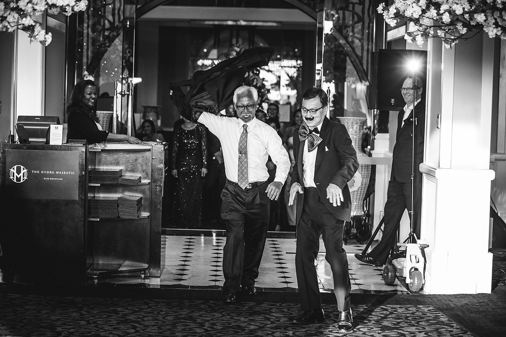 the fathers hydro majestic wedding photographer
