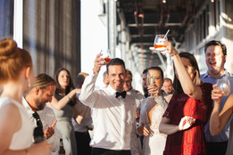 Wedding speeches and toasting