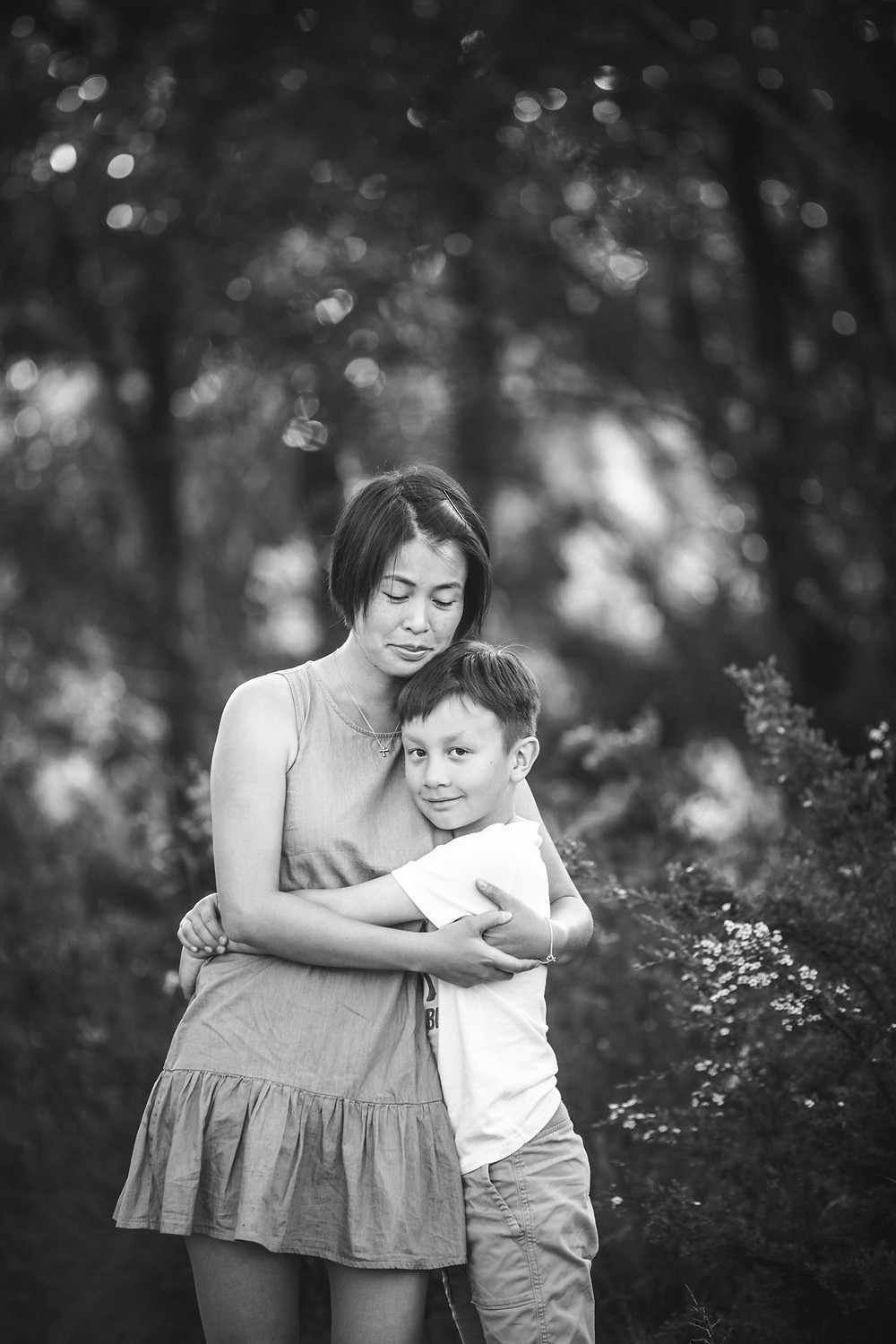 summer family portrait session blue mountains de lumiere photography