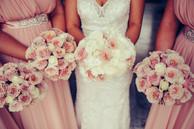 Bridal bouquets captured by de lumière photography