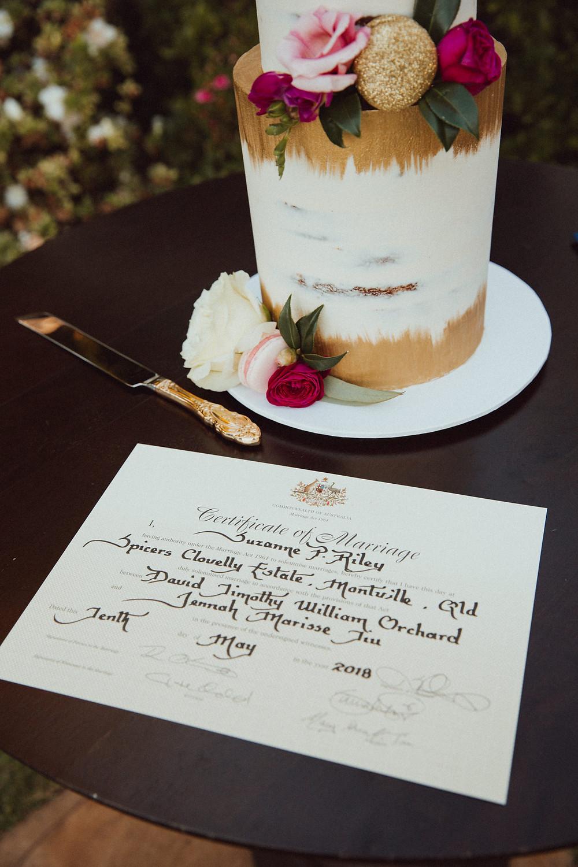 marriage certificate de lumiere photography destination wedding photographer