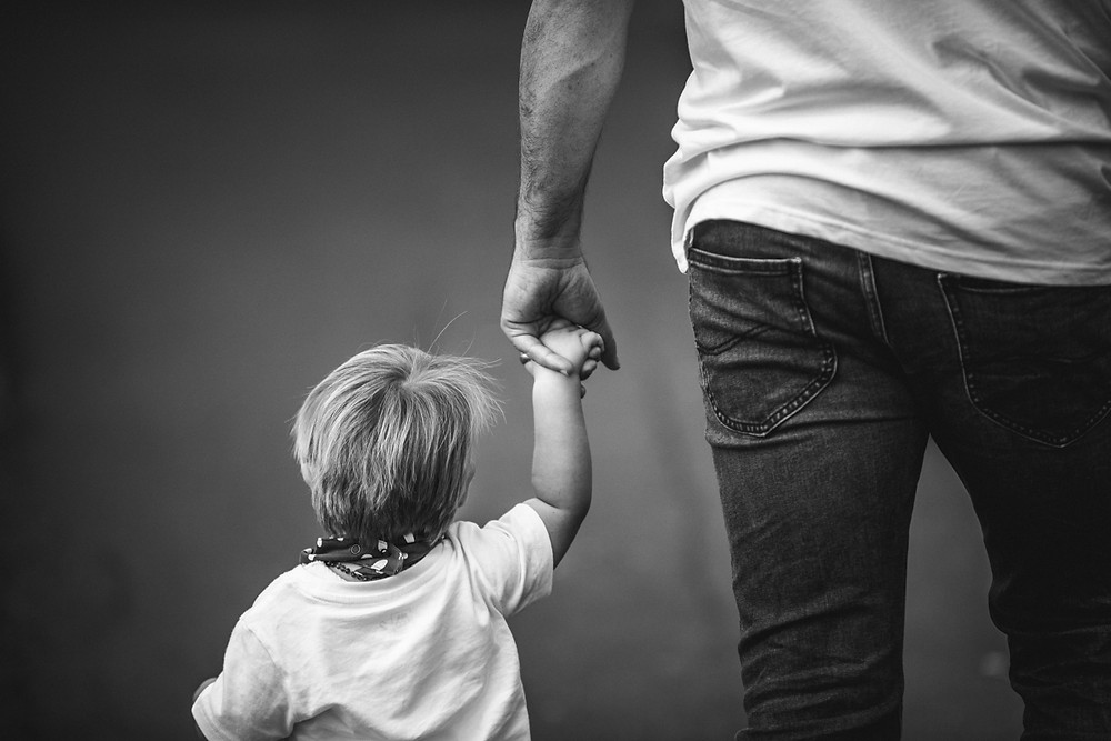 Father and son photographed by Blue Mountains Family Photographer de lumiere photography