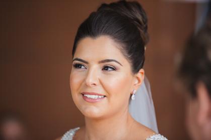 Portrait of the bride captured by de lumière photography