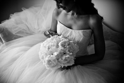 bridal portrait by de lumiere photography