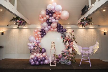 balloon sculpture styled first birthday sydney photographer