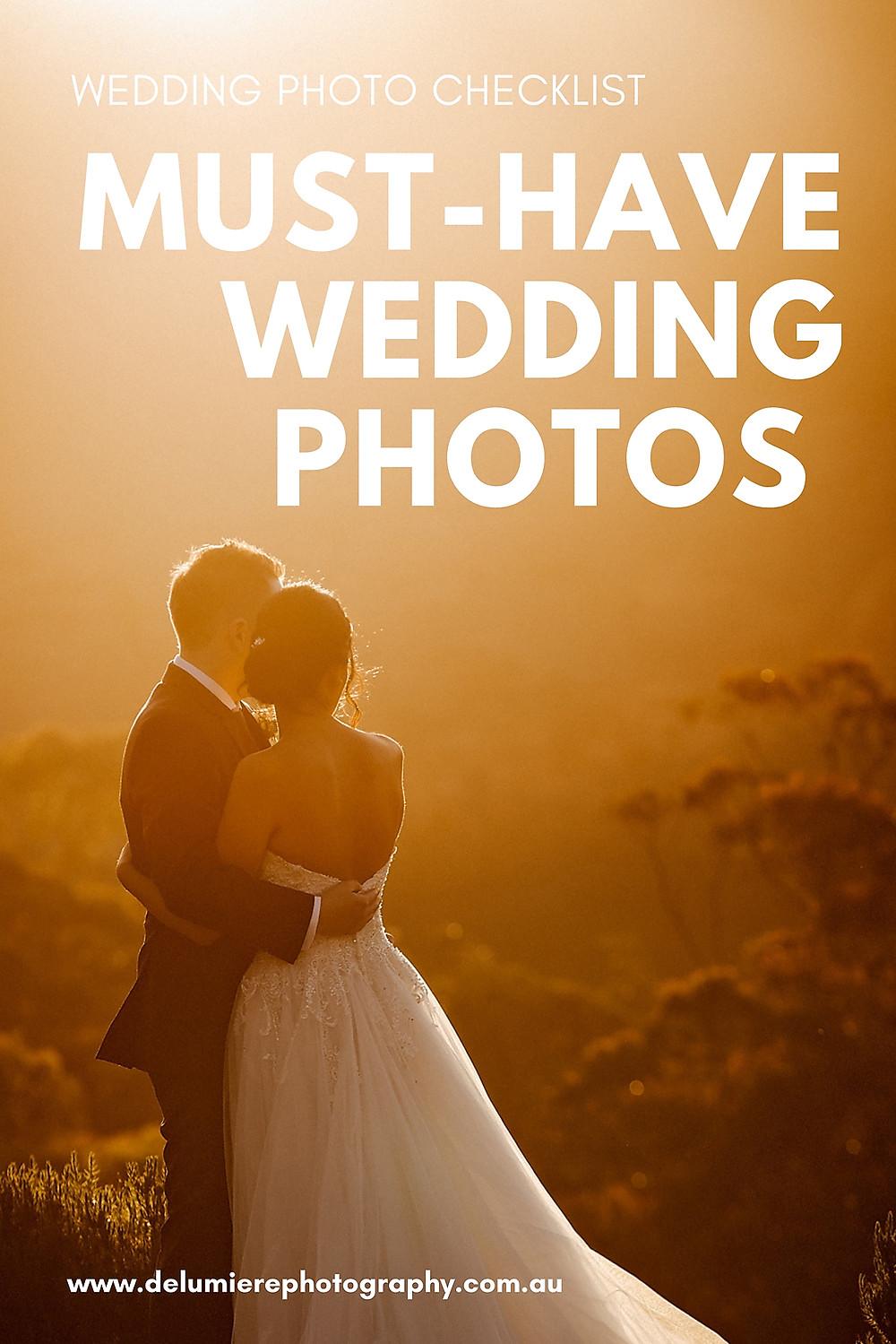 must have wedding photos sydney wedding photography
