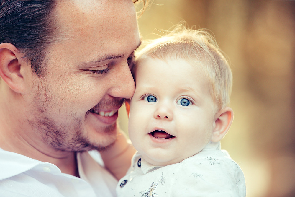 Father and son photographed by Sydney Family Photographer de lumiere photography