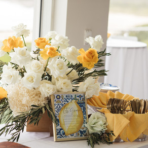 Mediterranean meets the Sea for Taharna's Luxury Bridal Shower // de lumière photography