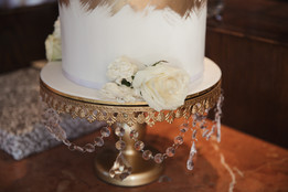 Wedding cake details by Sweet Fantasy Cakes