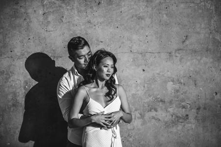 Romantic engagement photography by de lumière photography