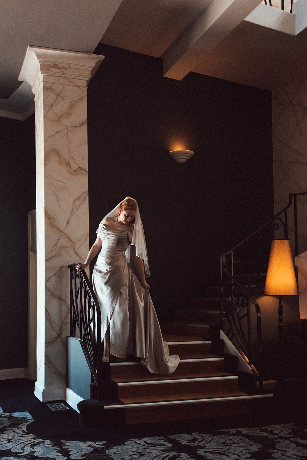 the bride hydro majestic wedding photographer
