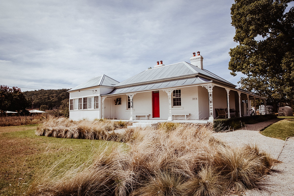 country homestead at farm wedding venue