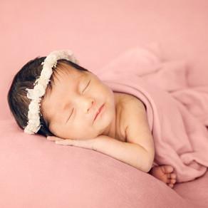 Pretty in Pink - Newborn Portrait Session // Sydney Photographer