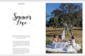 Gypsy Boho Hens Party Blue Mountains Love Magazine Feature de lumiere photography
