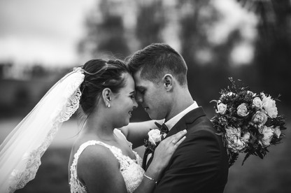 bride and groom romantic moment country wedding de lumiere photography